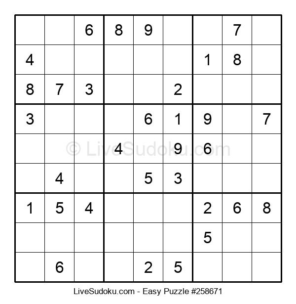 Beginners Puzzle #258671