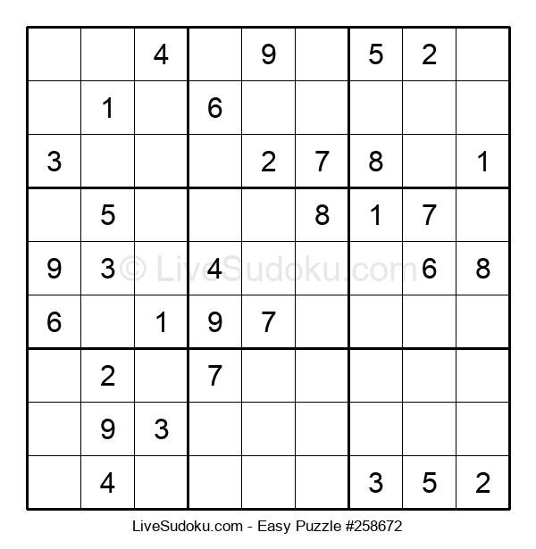 Beginners Puzzle #258672