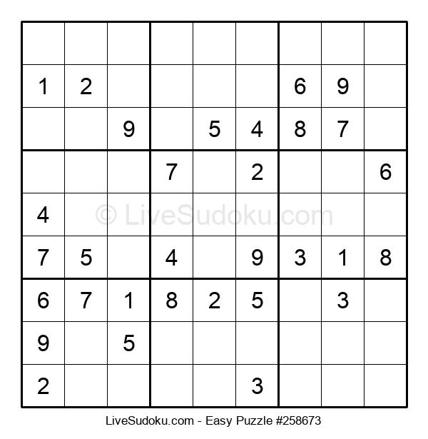 Beginners Puzzle #258673