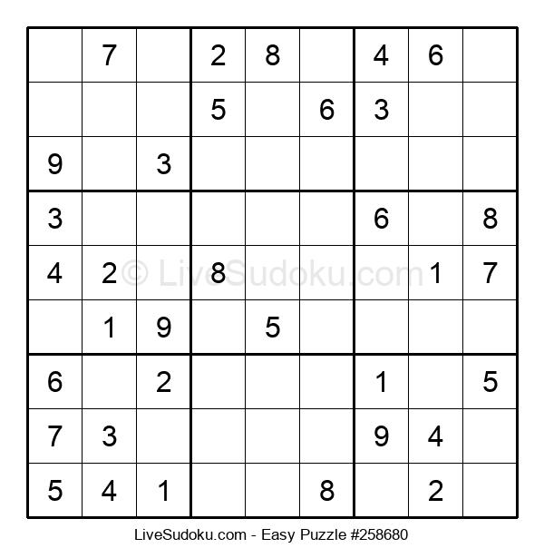 Beginners Puzzle #258680