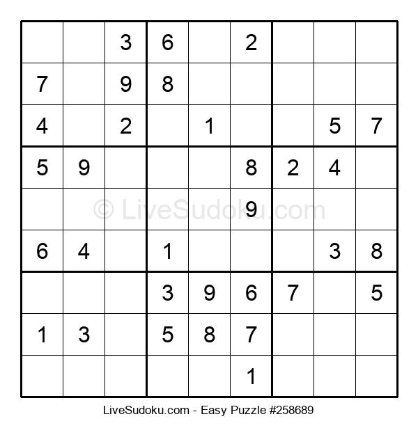 Beginners Puzzle #258689