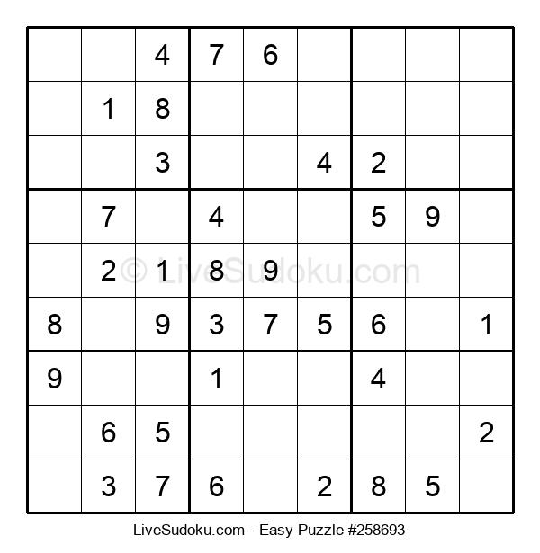 Beginners Puzzle #258693
