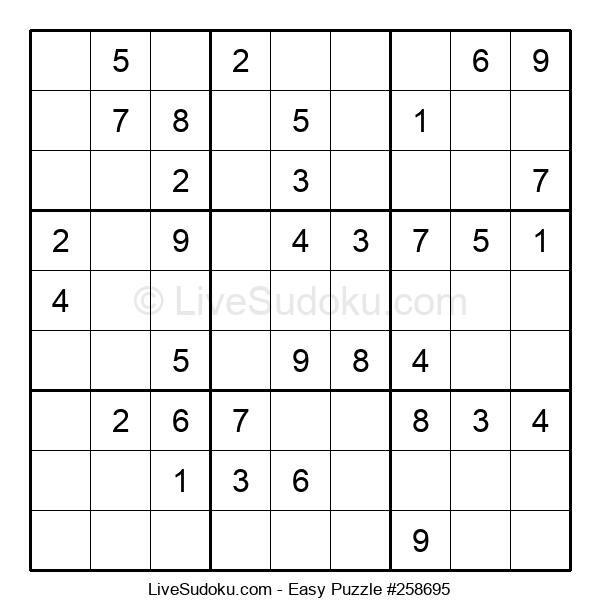 Beginners Puzzle #258695