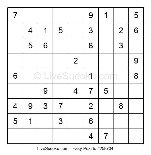 Beginners Puzzle #258704