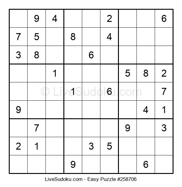 Beginners Puzzle #258706