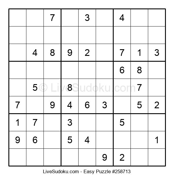 Beginners Puzzle #258713