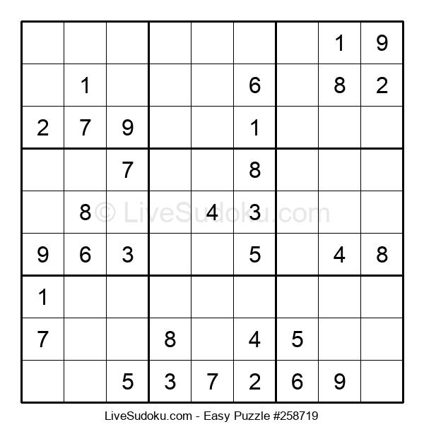 Beginners Puzzle #258719