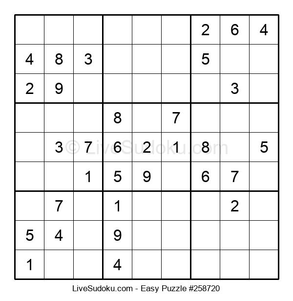 Beginners Puzzle #258720