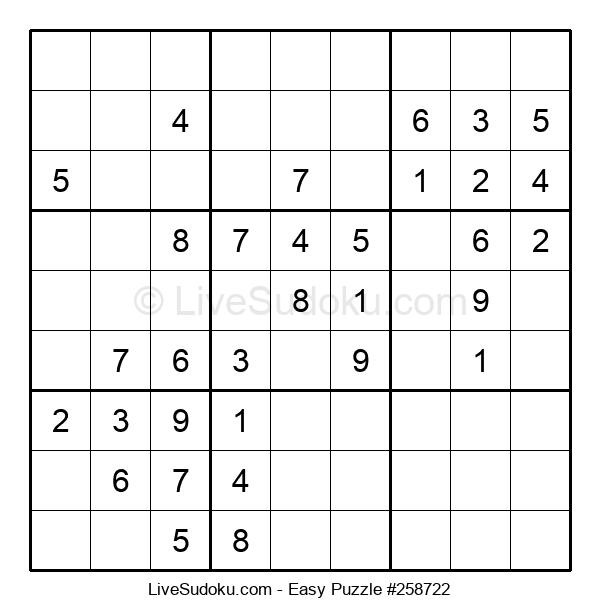 Beginners Puzzle #258722