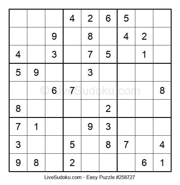 Beginners Puzzle #258727