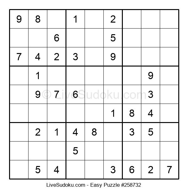 Beginners Puzzle #258732