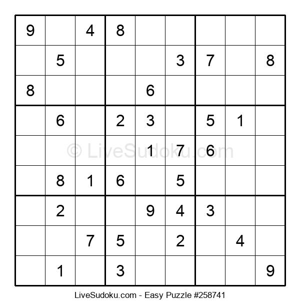 Beginners Puzzle #258741