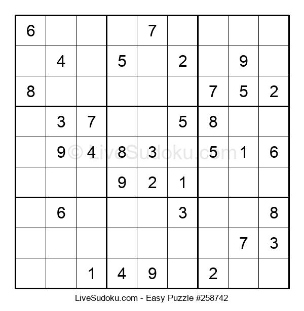 Beginners Puzzle #258742