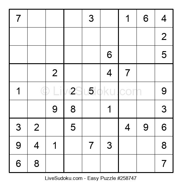 Beginners Puzzle #258747