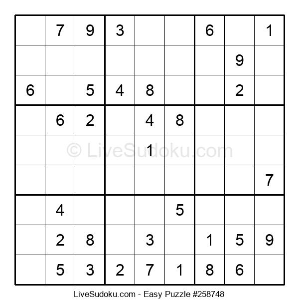 Beginners Puzzle #258748