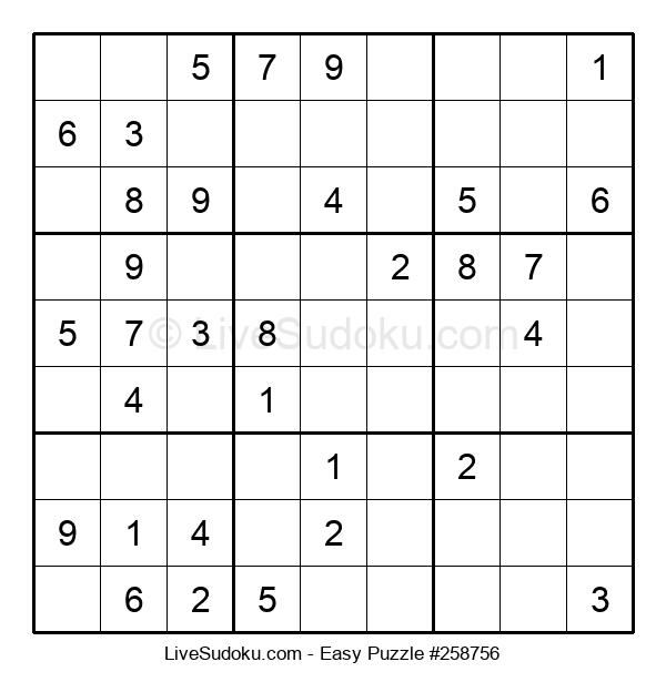 Beginners Puzzle #258756