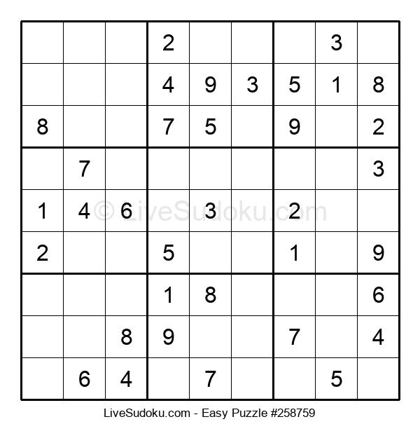 Beginners Puzzle #258759