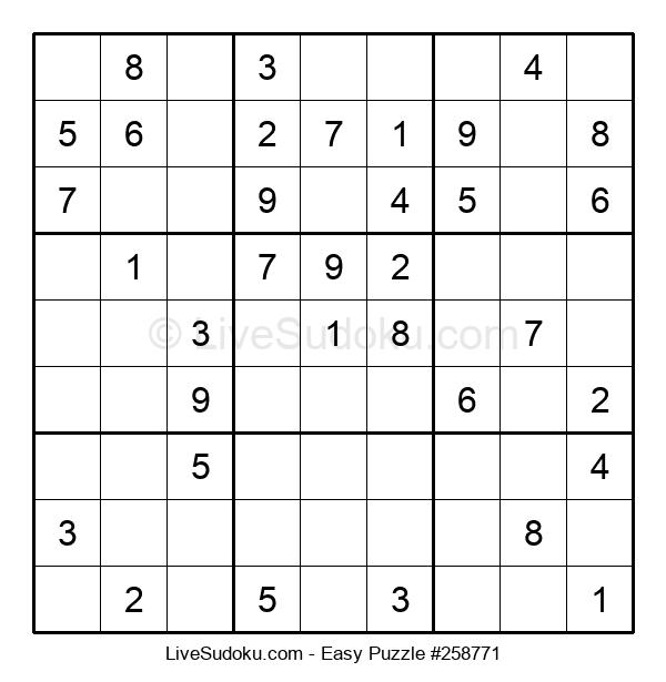 Beginners Puzzle #258771
