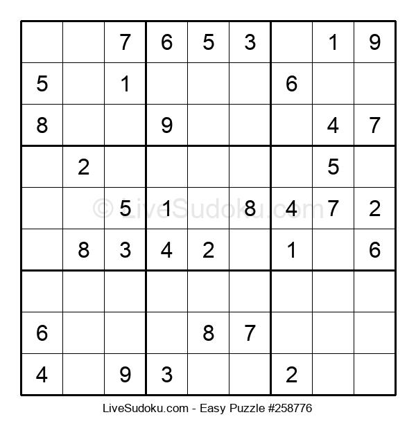 Beginners Puzzle #258776