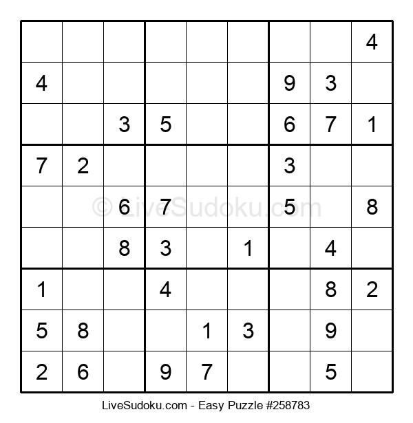 Beginners Puzzle #258783