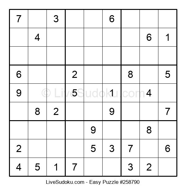 Beginners Puzzle #258790