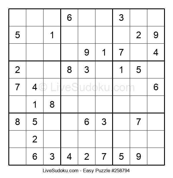 Beginners Puzzle #258794