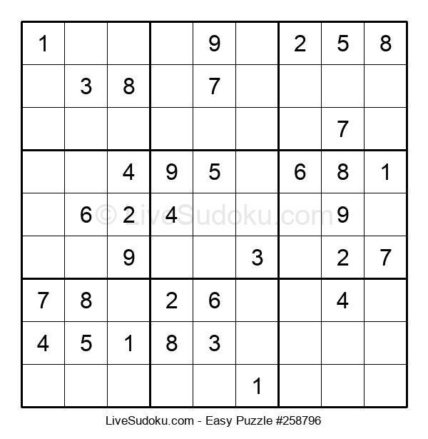 Beginners Puzzle #258796