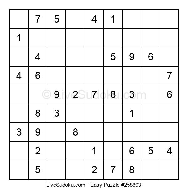 Beginners Puzzle #258803