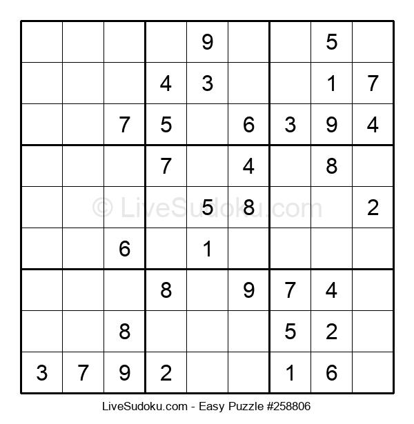 Beginners Puzzle #258806
