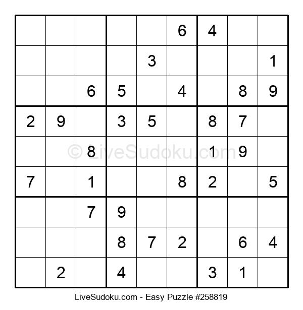 Beginners Puzzle #258819