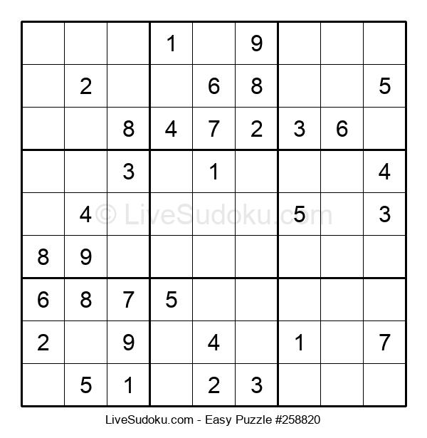 Beginners Puzzle #258820