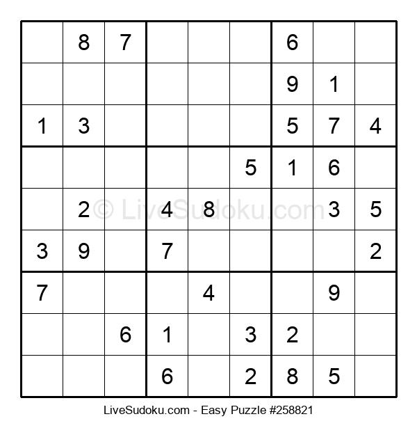 Beginners Puzzle #258821