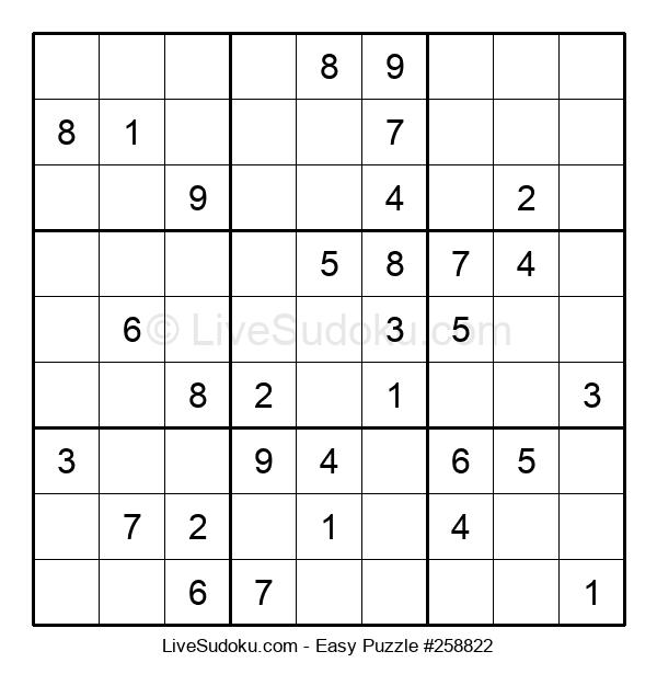 Beginners Puzzle #258822