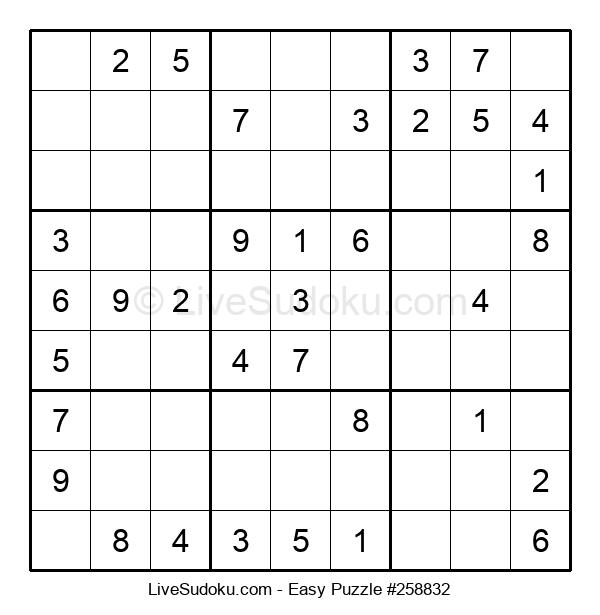 Beginners Puzzle #258832