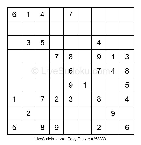 Beginners Puzzle #258833