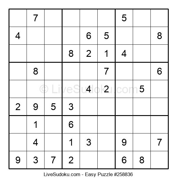 Beginners Puzzle #258836