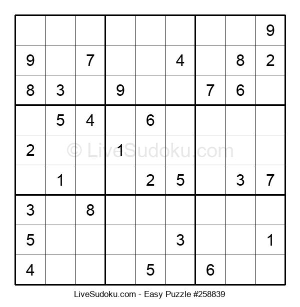Beginners Puzzle #258839