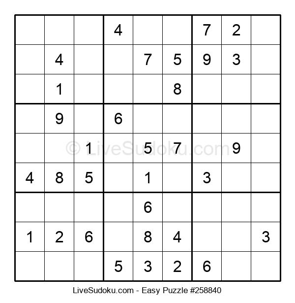 Beginners Puzzle #258840