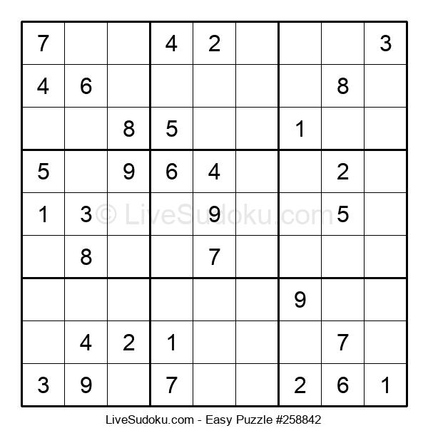 Beginners Puzzle #258842