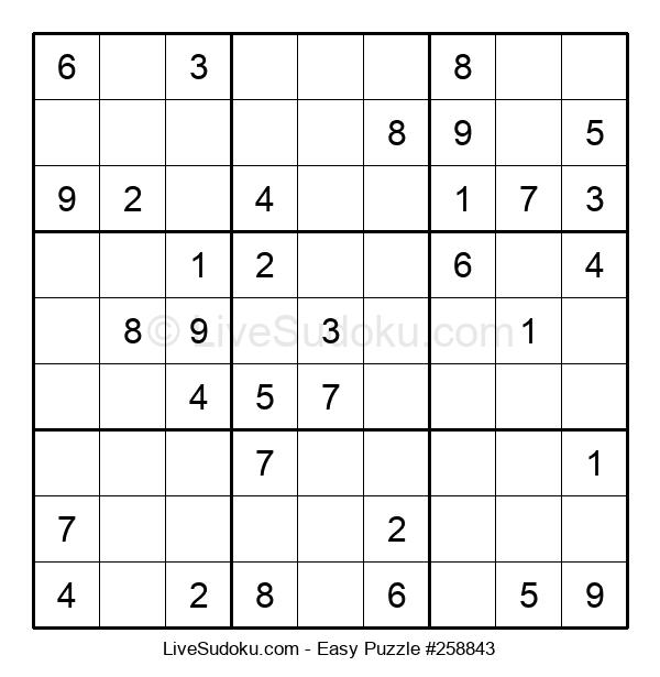 Beginners Puzzle #258843