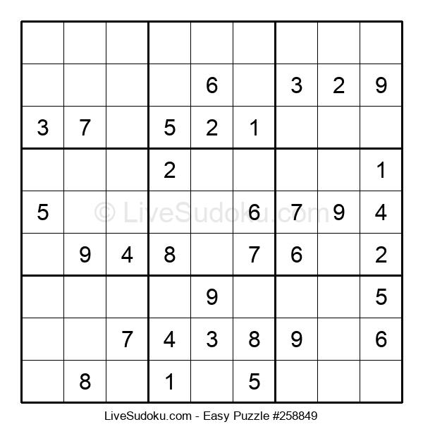 Beginners Puzzle #258849
