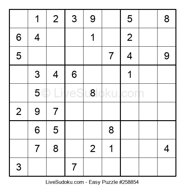 Beginners Puzzle #258854