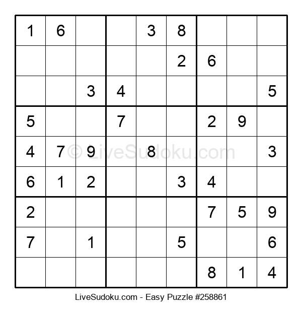 Beginners Puzzle #258861