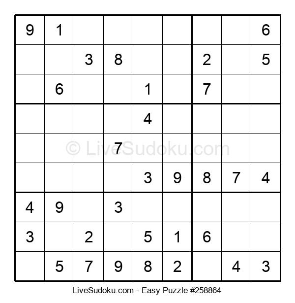 Beginners Puzzle #258864