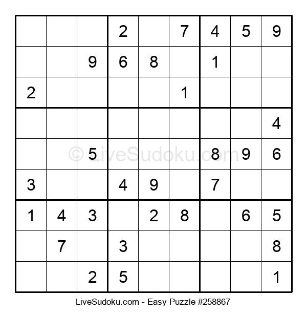 Beginners Puzzle #258867