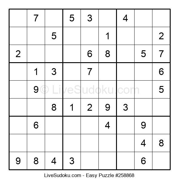 Beginners Puzzle #258868