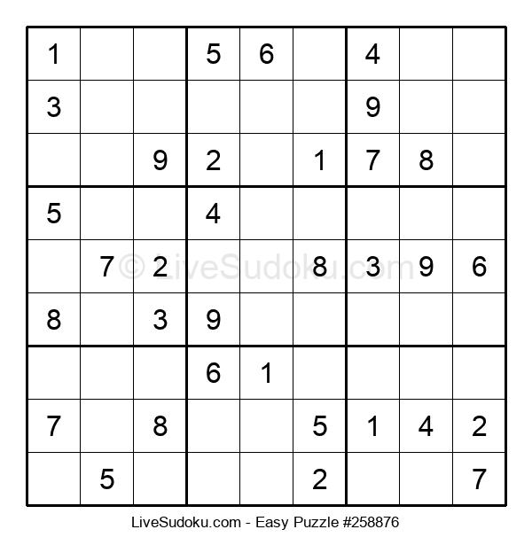 Beginners Puzzle #258876