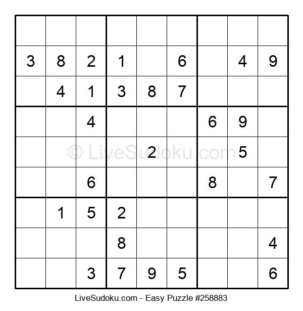 Beginners Puzzle #258883