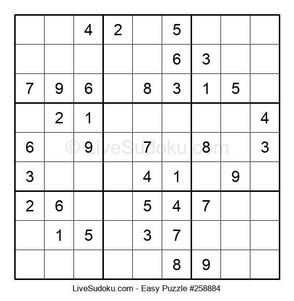 Beginners Puzzle #258884