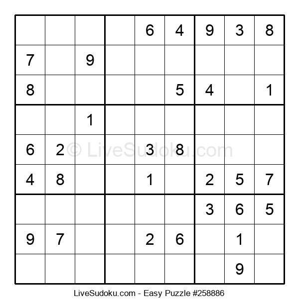 Beginners Puzzle #258886